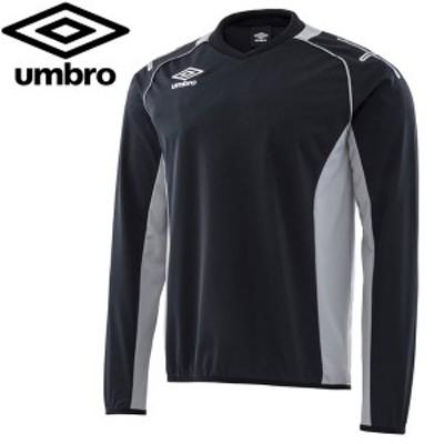 アンブロ サッカー ウェア トレーニングトップ UAS2660-BLK