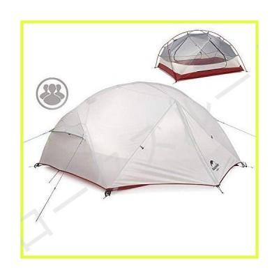 usharedo モンガー2 3人用ドームテント 210T 2層 防雨テント キャリーバッグ付き アウトドア キャンプ 旅行