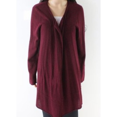 Magaschoni  ファッション トップス Magaschoni NEW Red Womens Size Large L Cardigan Cashmere Sweater
