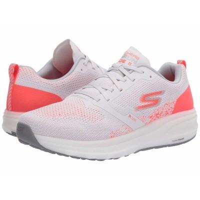 スケッチャーズ スニーカー シューズ レディース Go Run Ride 8 Light Grey/Pink