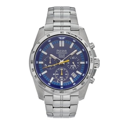 PULSAR by SEIKO[パルサー・バイ・セイコー] 海外モデル 日本未発売 ソーラー ネイビー アナログ メンズ 腕時計 PZ5001 pz5001