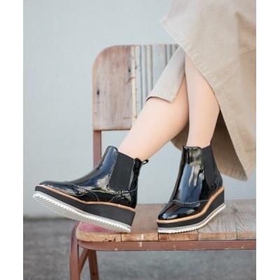SEVEN TWELVE THIRTY / サイドゴアショートブーツ WOMEN シューズ > ブーツ