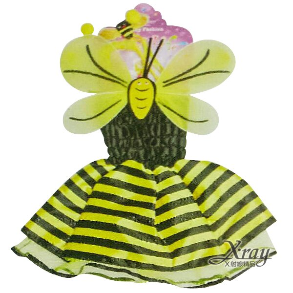 蜜蜂連身裙4件組,萬聖節服裝/化妝舞會/派對道具/兒童變裝,X射線【W417238】