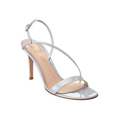 レディース シューズ  Gianvito Rossi Manhattan 85 Patent Sandal