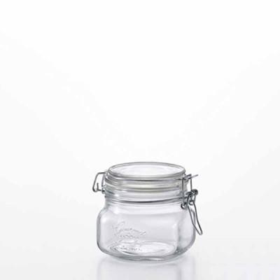 ガラス雑貨 食器 ギフト |foodie jar BOR 角型 500×6個セット  H-7556