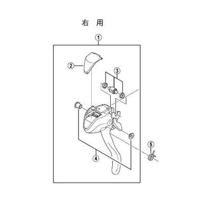 シマノ(SHIMANO) リターンスプリング(右用) Y6K287000