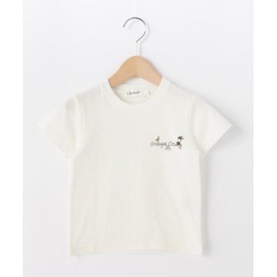 【デッサン】 オレンジカウンティロゴ天竺Tシャツ キッズ アイボリー 12(120cm) Dessin