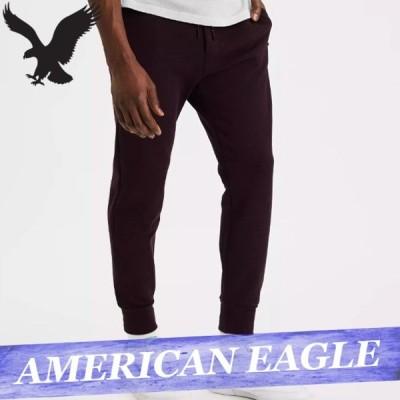 アメリカンイーグル スウェットパンツ ジョガー メンズ ロゴ 無地 ボトムス 新作 AEO