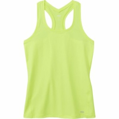 DSG レディース タンクトップ トップス Performance Tight Fit Tank Top Hi Vis Yellow