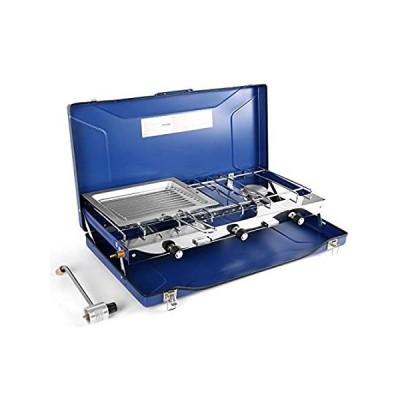 Odoland Gas Camping Stove, Portable Tabletop Propane Camp Stove Burner for
