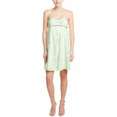 Sable  ファッション ドレス Sail To Sable Silk Sundress 4 Green