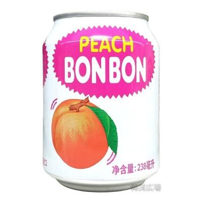 ヘテ 桃ボンボン ジュース 238ml (缶)