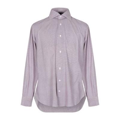 ORIAN シャツ ボルドー 43 コットン 97% / ポリウレタン 3% シャツ