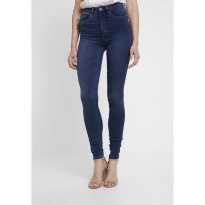 オンリー デニムパンツ レディース ボトムス ONLROYAL - Jeans Skinny Fit - dark blue denim