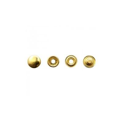 SEIWA (レザークラフト 金具4) ブラスジャンパーボタン 大 7050