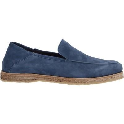 アンドレア ヴェントゥーラ ANDREA VENTURA FIRENZE メンズ ローファー シューズ・靴 Loafers Slate blue