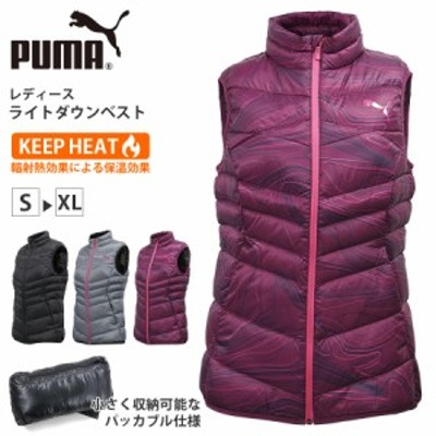 PUMA プーマ レディース アウター 590448 ダウン ベスト ライフスタイル WARMCELL KEEPHEAT パッカブル