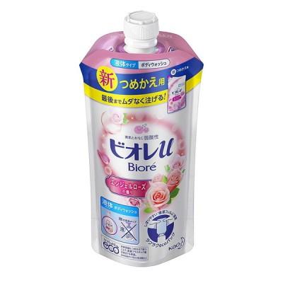 花王 ビオレU  エンジェルローズの香り つめかえ用 340ml 石鹸・ボディソープ