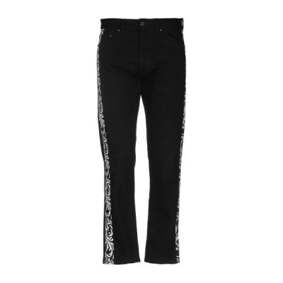 VERSACE ジーンズ ファッション  メンズファッション  ボトムス、パンツ  ジーンズ、デニム ブラック
