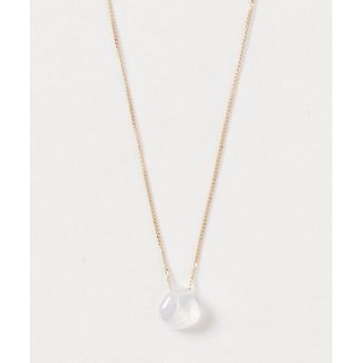 ネックレス 【V&SSS】K18 natural stone necklace