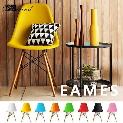 限定セール 2脚 ダイニングチェア イームズチェア 送料無料 イス 椅子 シェルチェア 北欧 木脚 全8色 デザイナーズ おしゃれ ルームチェア
