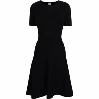 ヒューゴ ボス BOSS レディース ワンピース ワンピース・ドレス Ivelna Knitted Dress Black