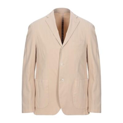 DOMENICO TAGLIENTE テーラードジャケット ベージュ 50 コットン 97% / ポリウレタン 3% テーラードジャケット