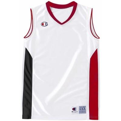 BOYS GAME SHIRTS Champion チャンピオン バスケットゲームシャツ J (cbyr2032-wr)