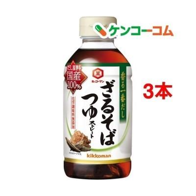 キッコーマン 香る一番だし ざるそばつゆ ( 300ml*3本セット )/ キッコーマン