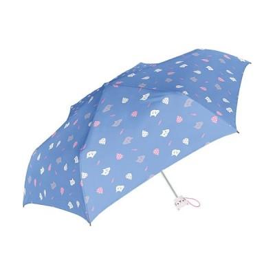 (BACKYARD/バックヤード)Girls 女の子用 折りたたみ傘 50cm チャーム付き/キッズ ネイビー