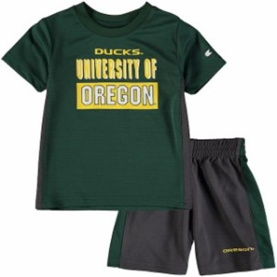 Colosseum コロセウム スポーツ用品  Colosseum Oregon Ducks Toddler Green In The Vault T-Shirt and Short Set
