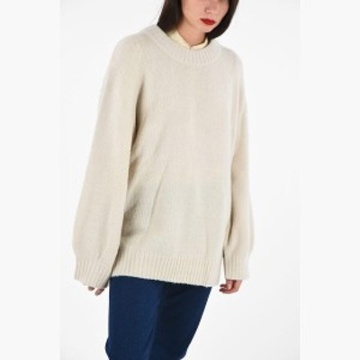 BAUM UND PFERDGARTEN/バウム ウンド ヘルガーテン セーター White レディース 秋冬2019 Oversized CALINDA Crewneck Sweater dk
