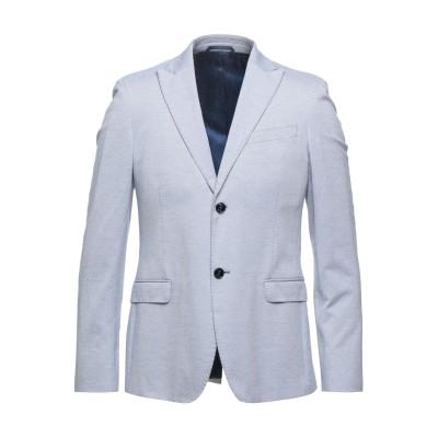 JOHN BARRITT テーラードジャケット スカイブルー 48 コットン 100% テーラードジャケット