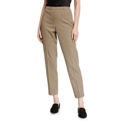 エリータハリ レディース カジュアルパンツ ボトムス Marcia Check Ankle Pants