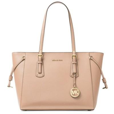 マイケル コース Michael Kors ユニセックス トートバッグ バッグ Voyager Medium Crossgrain Leather Tote Soft Pink/Gold