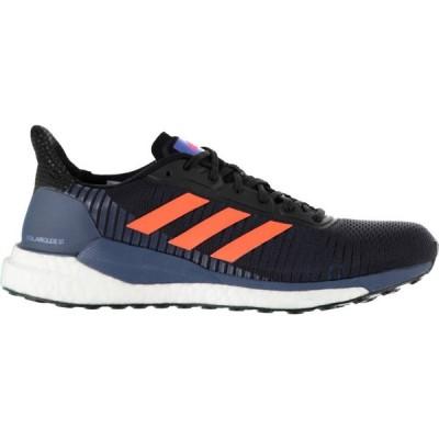アディダス adidas メンズ ランニング・ウォーキング シューズ・靴 Solar Glide ST Running Shoes Blk/Red/Blue