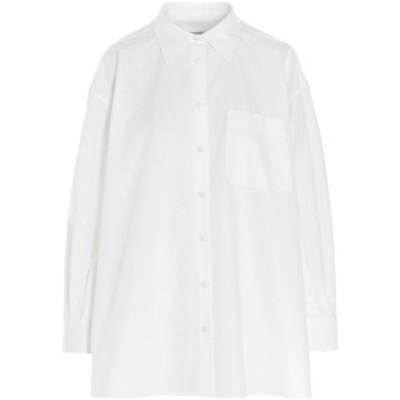 VALENTINO/バレンチノ White Poplin shirt with straps レディース 春夏2021 VB0AB2605A6001 ju