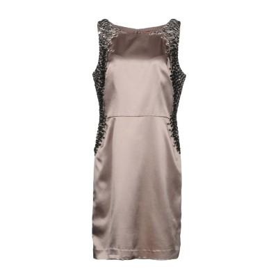 JOLIE CARLO PIGNATELLI ミニワンピース&ドレス サンド 46 ポリエステル 100% ミニワンピース&ドレス