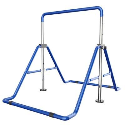 VeroMan 鉄棒 折りたたみ鉄棒 子ども用 室内遊具 多機能 折りたたみ式 子供逆上がり 高さ調節可 4段階高さ調節 体操 室内用 屋外使用可 耐荷重 100kg