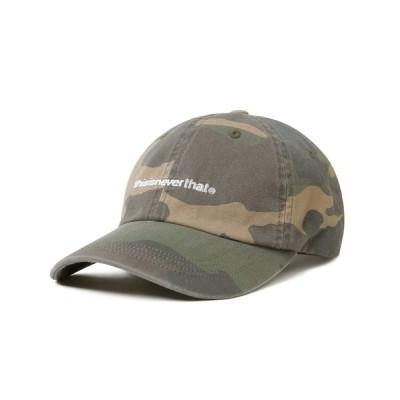NUBIAN / 21SSM WASHED T-LOGO CAP MEN 帽子 > キャップ