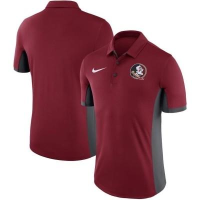 ユニセックス スポーツリーグ アメリカ大学スポーツ Florida State Seminoles Nike Evergreen Dri-FIT Polo - Garnet Tシャツ