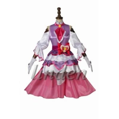 [linden] HuGっと!プリキュア    ルールー アムール   キュアアムール 風 コスプレ コスチューム 仮装 cosplay