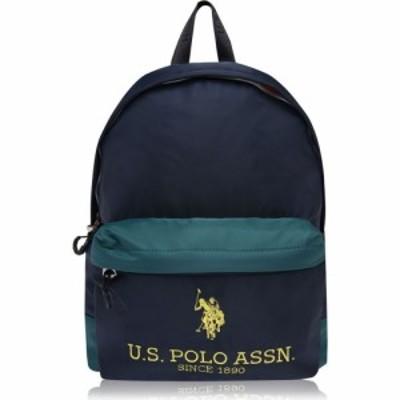 ユーエスポロアッスン US Polo Assn メンズ バックパック・リュック バッグ Us Polo Bump Ny Bkp Sn09 Green/Navy