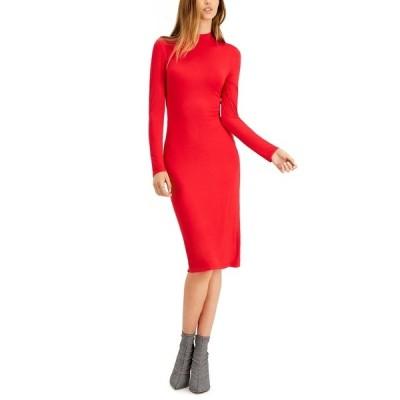 バースリー ワンピース トップス レディース Bodycon Midi Dress, Created for Macy's Cherry On Top