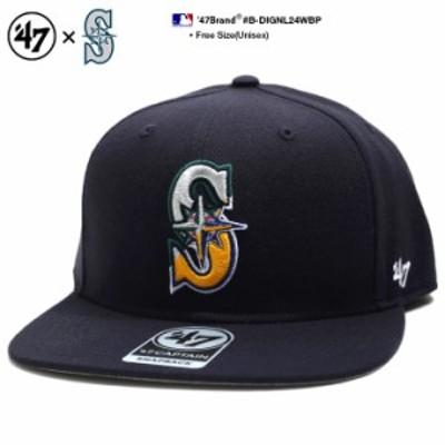フォーティーセブンブランド 47BRAND 帽子 スナップバック CAP メンズ レディース 紺 b系 ヒップホップ ストリート系 ファッション シア