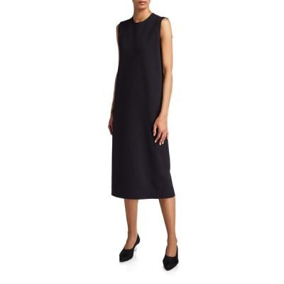 ザ ロウ レディース ワンピース トップス Chippo Compact-Jersey Sleeveless Shift Dress
