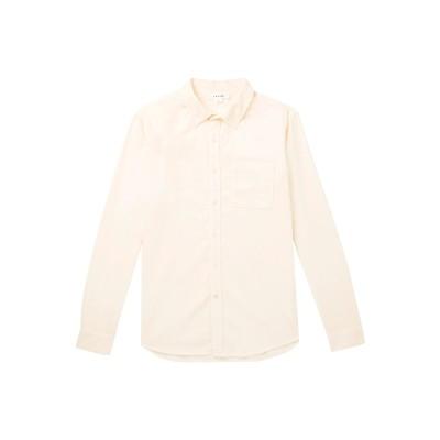 フレームデニム FRAME シャツ アイボリー XS コットン 100% シャツ