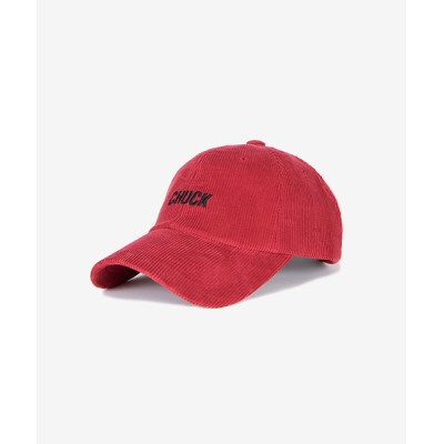 KONVINI / 【CHUCK】コーデュロイ ベースボール キャップ WOMEN 帽子 > キャップ