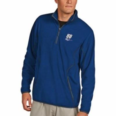 Antigua アンティグア スポーツ用品  Antigua Alex Bowman Royal Ice Quarter-Zip Jacket