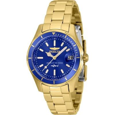 Invicta Pro Diver Quartz Blue Dial Ladies Watch 35603 並行輸入品